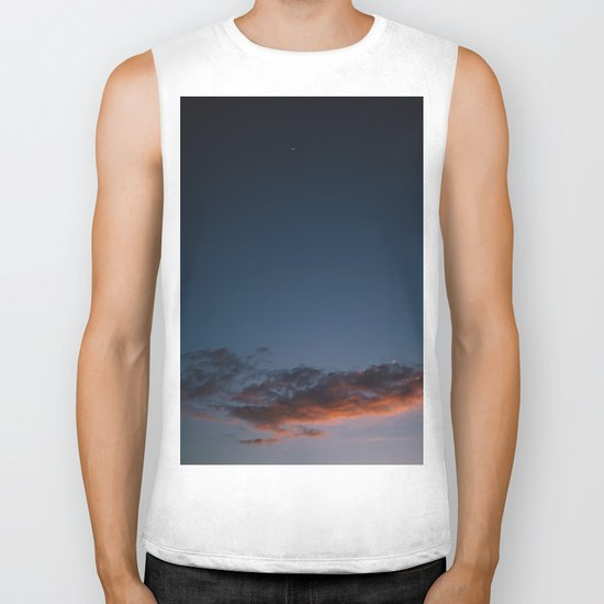Hawaiian Sunset Biker Tank