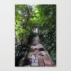 Lush tunnel Canvas Print