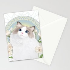 Cat Chabssal Stationery Cards