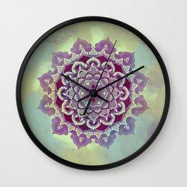 Hipnotic Mandala Design Wall Clock