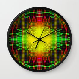 Color And Complexity Wall Clock