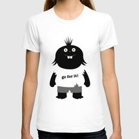 muppet T-shirts featuring Go for it! motivational muppet by simon oxley idokungfoo.com