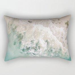 Frothy Fourth Beach Rectangular Pillow