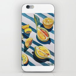 """When life gives you lemons"" iPhone Skin"
