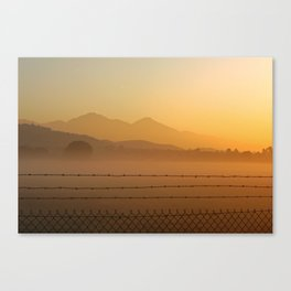 Mountain Haze Canvas Print