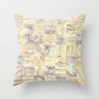 mosaic Throw Pillows featuring Mosaic by Santo Sagese