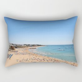 One day at the beach Rectangular Pillow