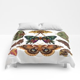 Moth Wings III Comforters