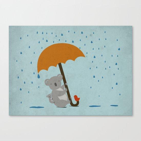Safe! Canvas Print