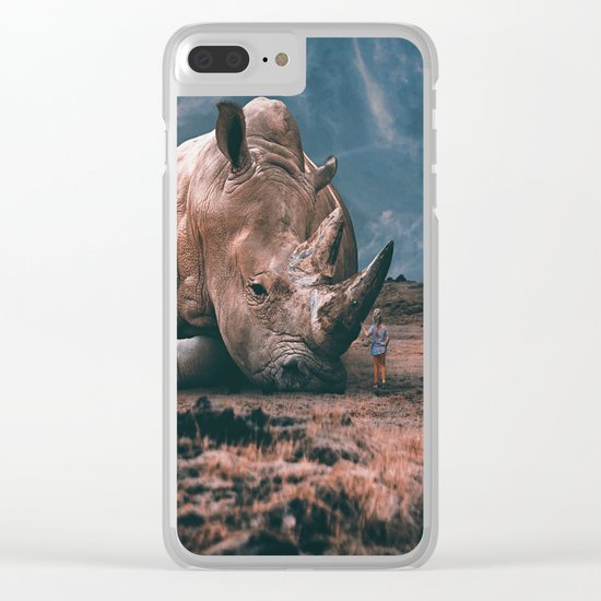 Beside you Clear iPhone Case