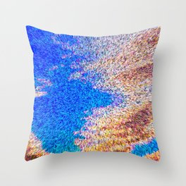 3 Dimensional Abstract Art Throw Pillow
