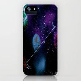 Planetary Drift iPhone Case
