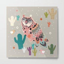 A Dreamy owl Metal Print