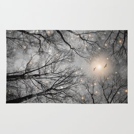 Nature Blazes Before Your Eyes 2 (Ash Embers) Rug