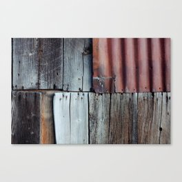 Abandoned Texture Canvas Print