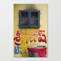 india Canvas Prints featuring India by Kate Denman