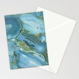 Beautiful Marble Stationery Cards