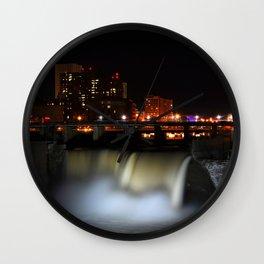 High Falls Wall Clock