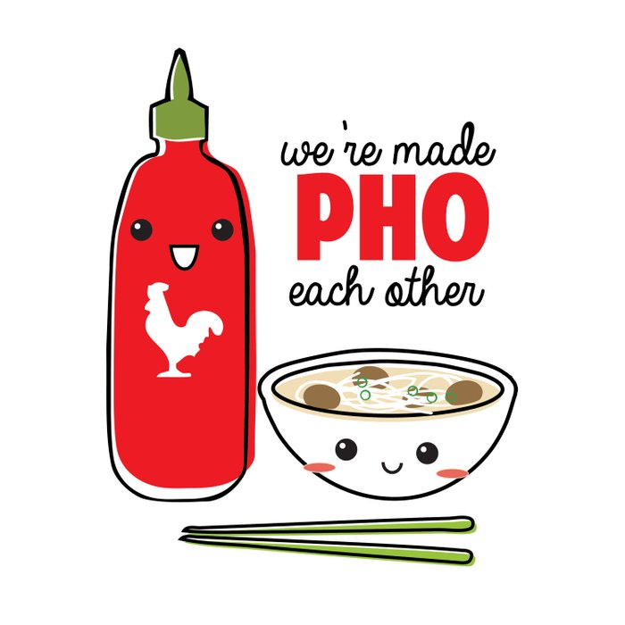 We're Made PHO Each Other Duvet Cover