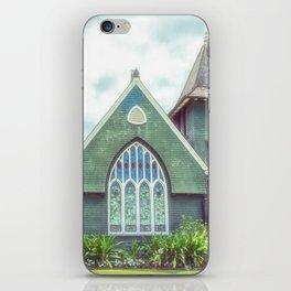 Hanalei Church, Kauai, Hawaii iPhone Skin