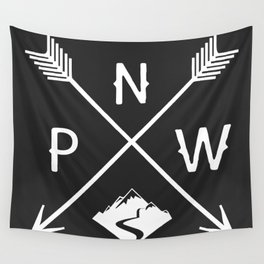 Pacific North West, Seattle Washington Wall Tapestry