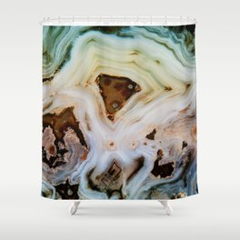 THE BEAUTY OF MINERALS Shower Curtain