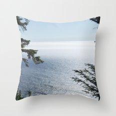 oregon coast 10 Throw Pillow