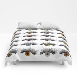 Hypnotic Eyes Comforters