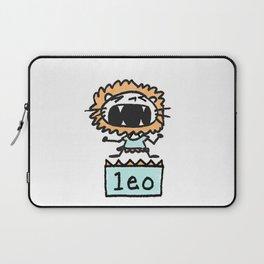 Rawwrrrr! says the Leo. Laptop Sleeve
