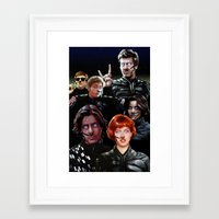 arrakis Framed Art Prints featuring Breakfast On Arrakis by Jason Wright