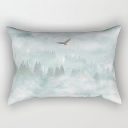 Himalayan soaring Rectangular Pillow
