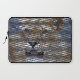 Mosaic Animal - Lion Laptop Sleeve