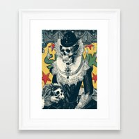 lady Framed Art Prints featuring Lady by Ali GULEC