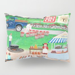Aunt Abby's Apples Pillow Sham