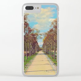 walk straight ahead Clear iPhone Case