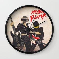 Mad Punk / A tribute to Daft Punk Wall Clock