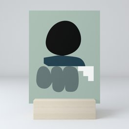 Shape study #19 - Stackable Collection Mini Art Print