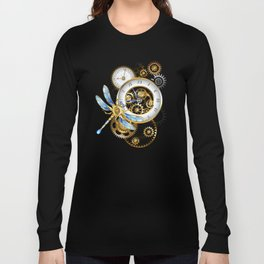 Dials with Dragonfly ( Steampunk ) Langarmshirt
