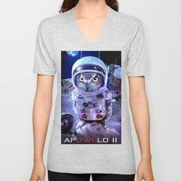 moon landing: APOWLLO 11 Unisex V-Neck