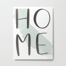 California Home Metal Print