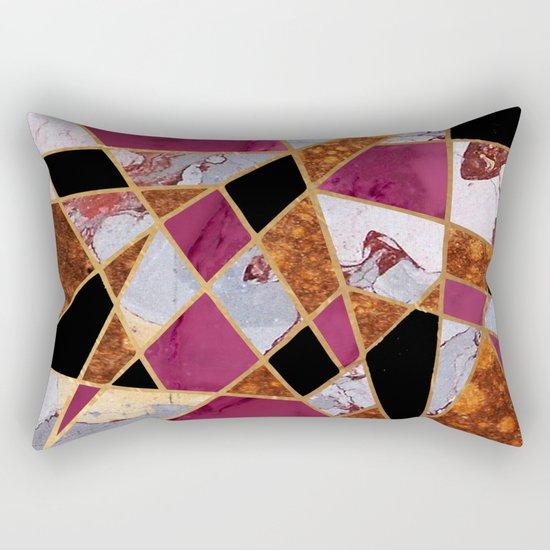 Abstract #448 Rectangular Pillow