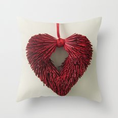 Loving Red Throw Pillow