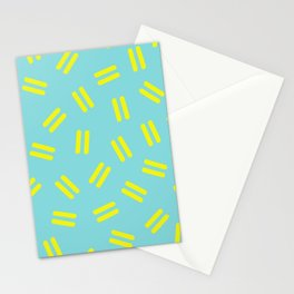Postmodern Ants in Minty Aqua Stationery Cards