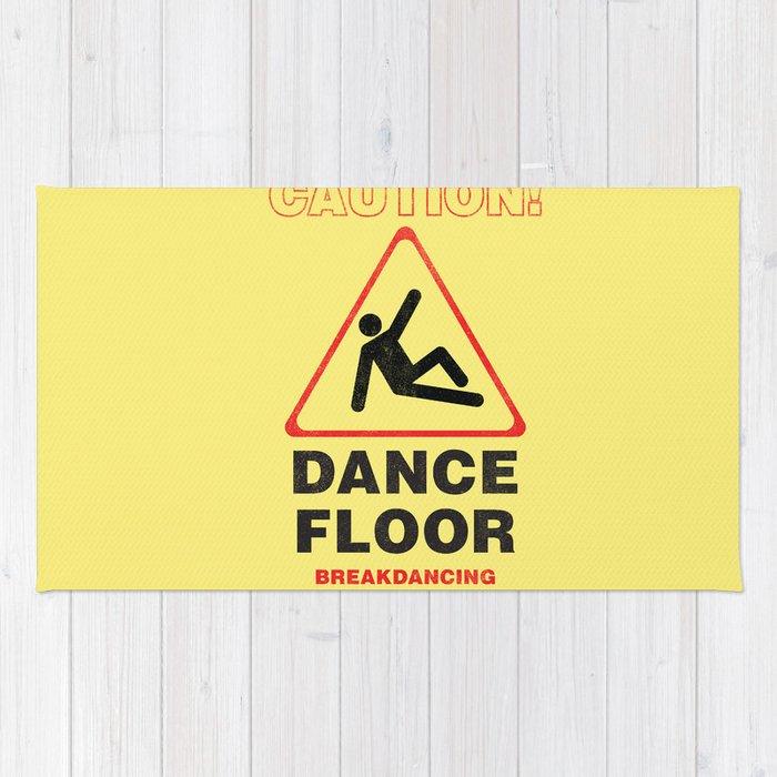 Cuation: breakdancing Rug