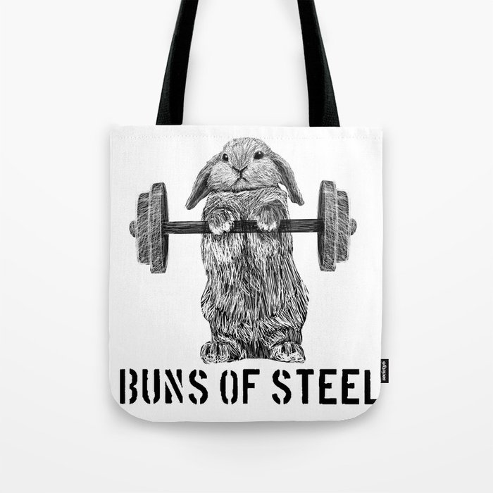 Buns of Steel Tote Bag