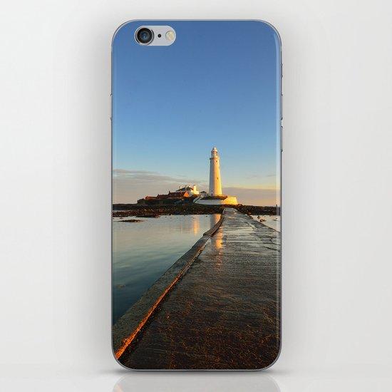 St Marys Lighthouse iPhone & iPod Skin