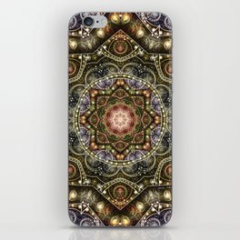 Mandalas from the Voice of Eternity 8 iPhone Skin