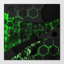 Digital Noise Canvas Print