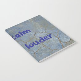 Keep calm and laugh louder Notebook