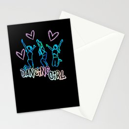 Modern dance great gift for dancers Stationery Cards